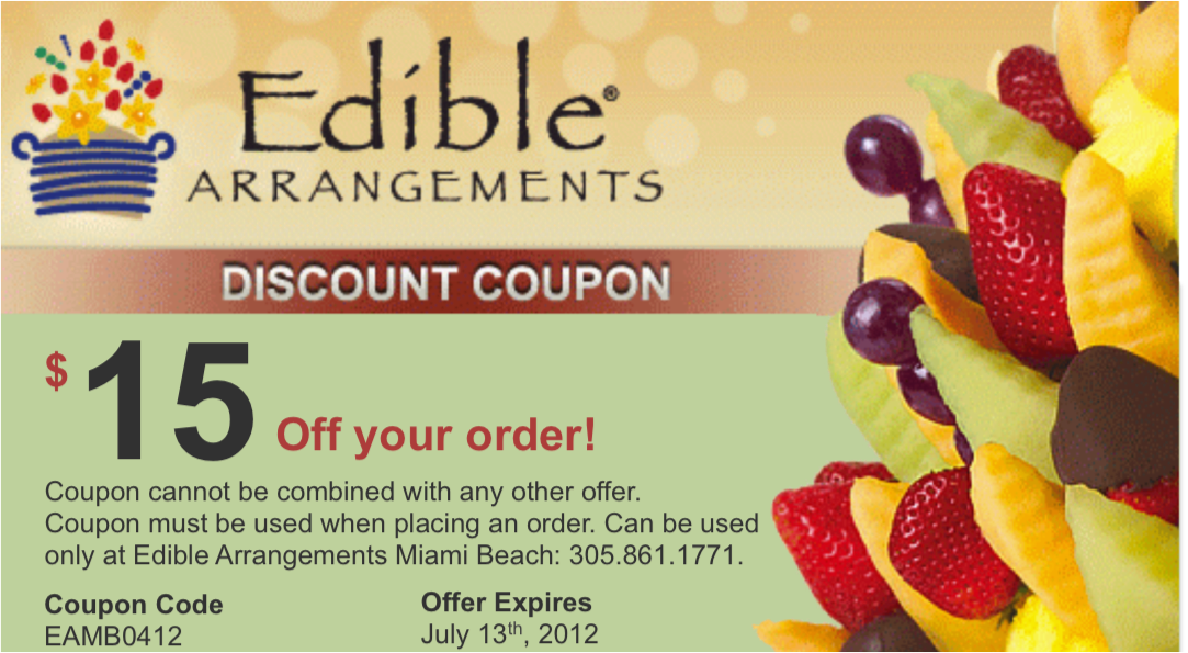 Coupon code for edible arrangements